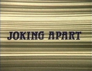 Joking Apart - The opening title is superimposed over a stack of legal documents.