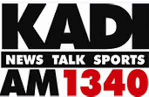 KICK (AM) - Logo as KADI