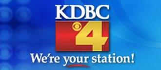 KDBC-TV - KDBC former logo (2004-2009).
