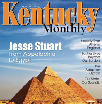 Kentucky Monthly - February, 2013 cover