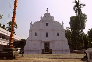 St. Thomas Orthodox Cathedral, Kadampanad Church in Kerala, India