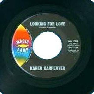 Looking for Love (Karen Carpenter song) - Image: Karen Carpenter Looking 4Luv