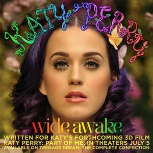 Wide Awake (song) - Image: Katy Perry Wide Awake single cover