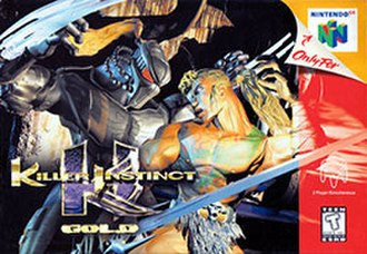 Killer Instinct Gold - Image: Killer Instinct Gold cover art