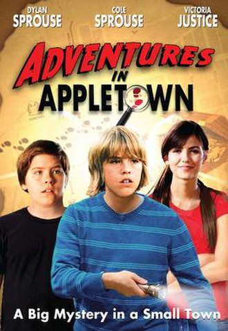 Adventures in Appletown - The American DVD Box Art.