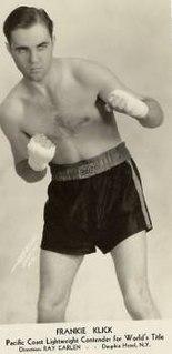 Frankie Klick American boxer (1907-1982)