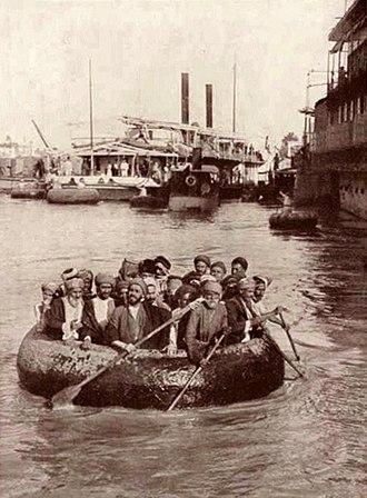 Kuphar - A kuphar in Baghdad in 1914