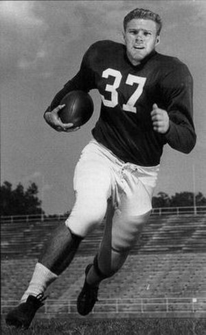 Lamar McHan - As a collegian at Arkansas, circa 1953