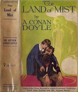 The Land of Mist - First edition cover