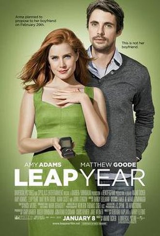 Leap Year (2010 film) - Image: Leap year poster
