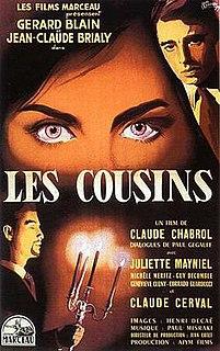 <i>Les Cousins</i> (film) 1959 film by Philippe de Broca, Claude Chabrol