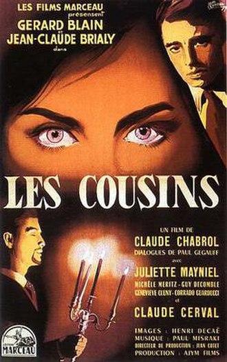 Les Cousins (film) - Film poster