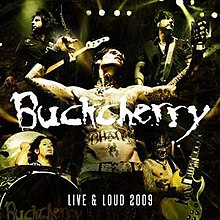 Live & Loud 2009 (Buckcherry album) coverart.jpg