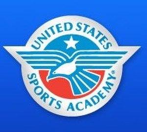 United States Sports Academy - Image: Logo A Dblue CMYK LB