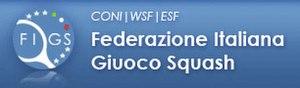 Italian Squash Federation - Image: Logo Federazione Italiana Giuoco Squash