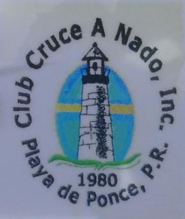 Cruce a Nado Internacional Yearly international swimming competition that takes place at Bahía de Ponce