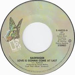 Love Is Gonna Come at Last - Image: Love Is Gonna Come at Last