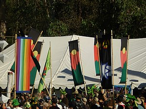MardiGrass - 2008 Cannabis Law Reform Rally, Mardigrass, Nimbin
