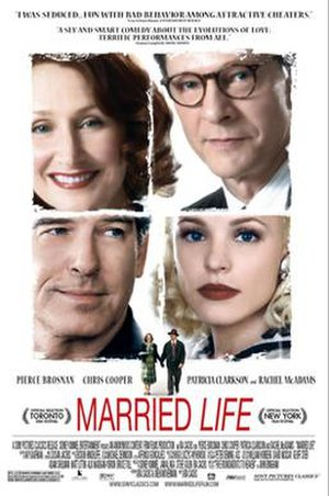 Married Life (2007 film) - Original theatrical poster