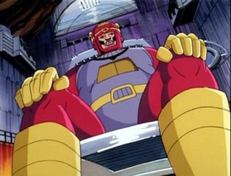 Master Mold - Master Mold in the X-Men Animated Series