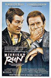 <i>Midnight Run</i> 1988 film by Martin Brest
