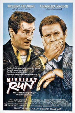 Midnight Run - Theatrical poster