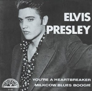 Milk Cow Blues - Image: Milcow Blues Boogie Elvis single