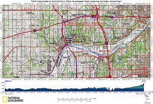 Wyandotte County, Kansas - Mission Creek watershed