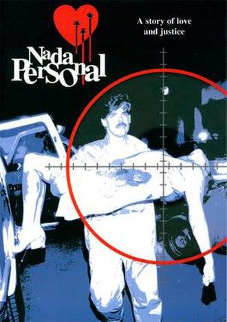 Nada personal (1996 TV series) - Image: Nada personal poster