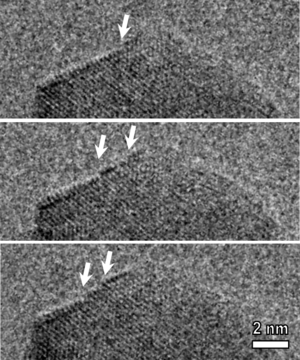 Nanowire - In situ observation of CuO nanowire growth