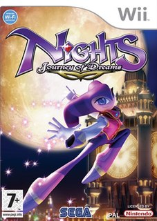 <i>Nights: Journey of Dreams</i> 2007 video game