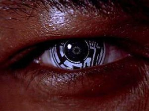 Technology in science fiction - La Forge's ocular implants from Star Trek: First Contact