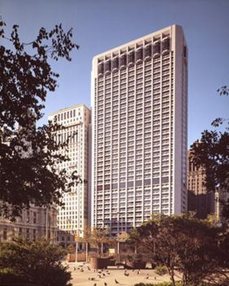 One Meridian Plaza - One Meridian Plaza in 1972