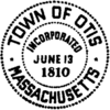 Official seal of Otis, Massachusetts