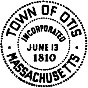 Otis, Massachusetts - Image: Otis MA seal