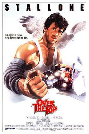 Over the Top (film) - Theatrical international release poster by Renato Casaro