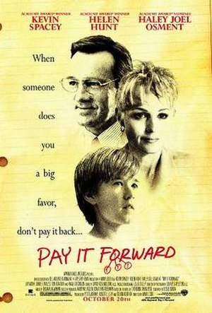 Pay It Forward (film) - Image: Pay it forward ver 1