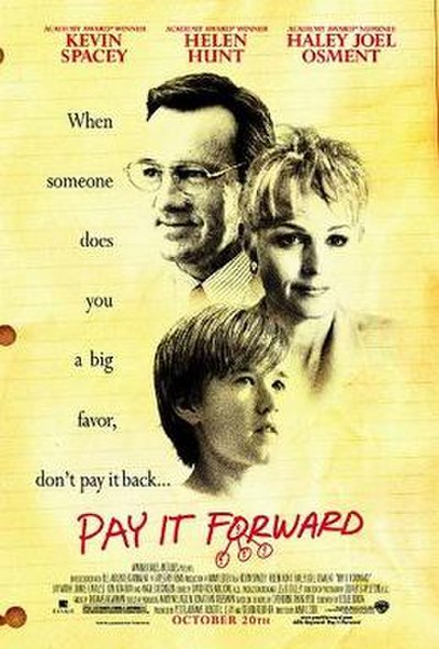 Picture of a movie: Pay It Forward