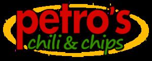 Petro's Chili & Chips - Image: Petros logo