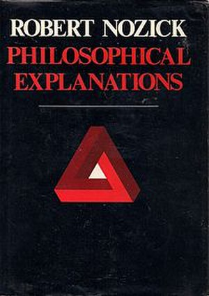 Philosophical Explanations - Cover of the first edition
