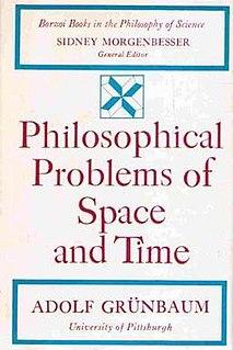 <i>Philosophical Problems of Space and Time</i> 1963 book by Adolf Grünbaum
