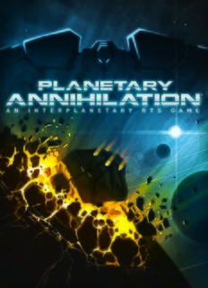 <i>Planetary Annihilation</i> real-time strategy game by Uber Entertainment