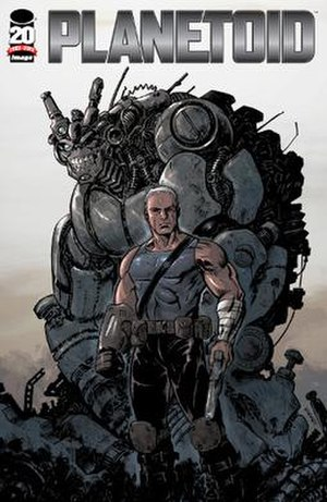 Planetoid (comics) - Image: Planetoid issue one cover