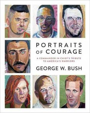 Portraits of Courage - Cover of Portraits of Courage