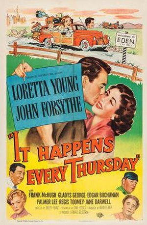 It Happens Every Thursday - Theatrical release poster