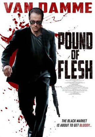 Pound of Flesh (2015 film) - Theatrical release poster