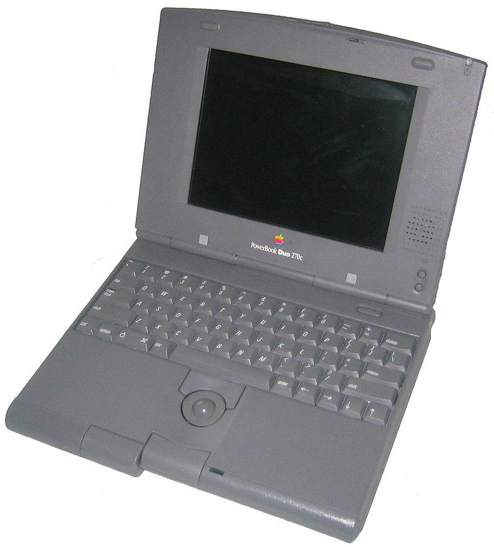 PowerBook Duo 270c