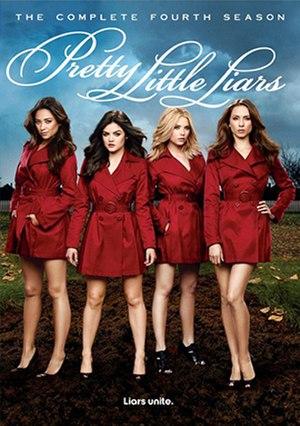 Pretty Little Liars (season 4) - Image: Pretty Little Liars Season 4 DVD Cover