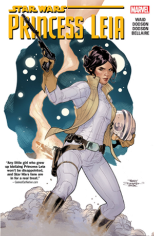Star Wars: Princess Leia - Cover of the trade paperback