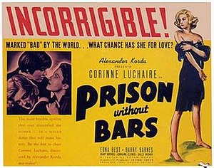 Prison Without Bars - Image: Prison Without Bars (1938 film)